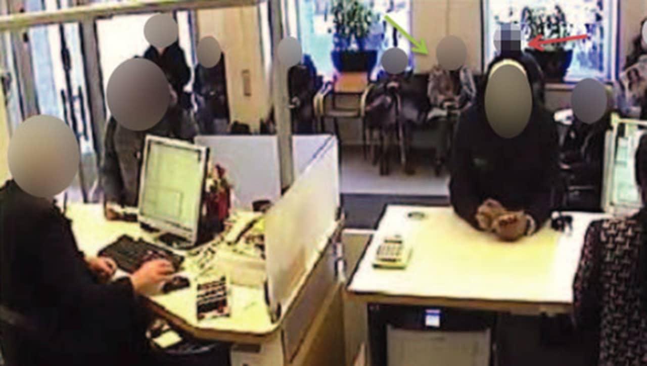 Bankkontor i tanum ranades