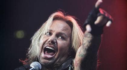 Vince Neil och hans Mötley Crüe planerar att spela i Sverige i sommar. Foto: Mikael Sjöberg