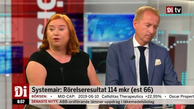 Jönsson om rapporten: Starkt kvartal - men enkla jämförelsesiffror