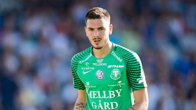 Marko Johansson är utlånad från MFF till Trelleborg. Foto: LUDVIG THUNMAN / BILDBYRÅN