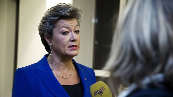 Arbetsmarknadsminister Ylva Johansson (S). Foto: LISA MATTISSON EXP