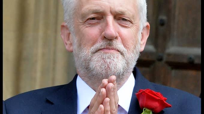 Jeremy Corbyns Labour gick fram i valet i Storbritannien. Foto: ANDREW PARSONS / I-IMAGES / POLARIS POLARIS IMAGES