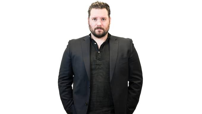 Csaba Bene Perlenberg, fristående kolumnist på Kvällspostens ledarsida. Foto: NORA LOREK