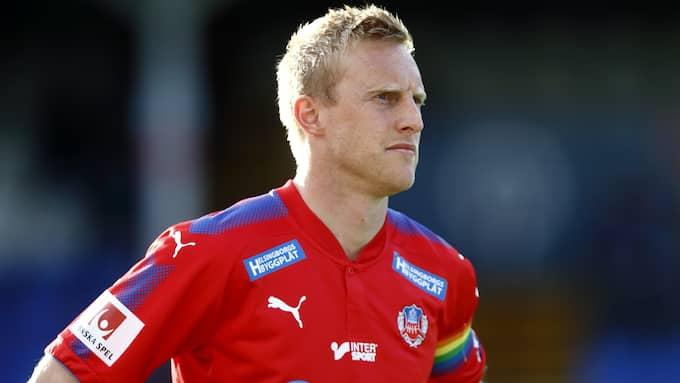 Peter Larsson lämnar Helsingborg. Enligt KvP:s uppgifter återvänder han till Halmstads BK. Foto: JOSEFINE LOFTENIUS / BILDBYRÅN
