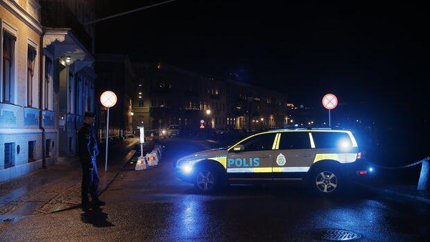 Polisen: Brunnit intill byggnaden