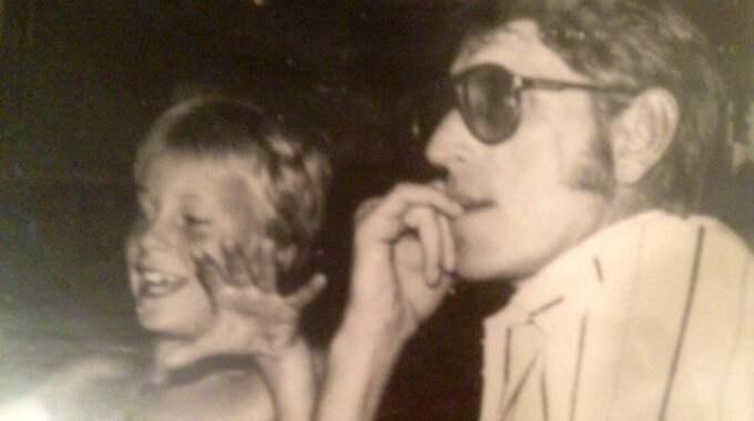 Mattias och pappa Gunnar.