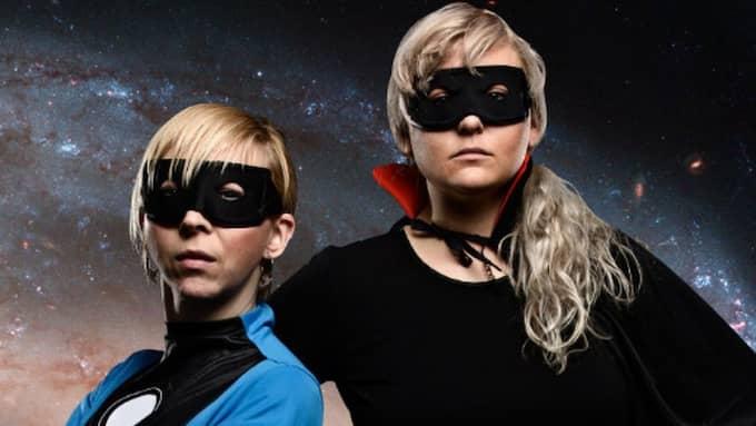 TRÖSTERIKA. Superältarna Jenny Jägerfeldt och Johanna Thydell.
