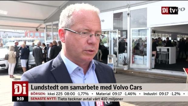 AB Volvos vd Lundstedt om samarbete med Volvo Cars