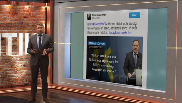 Listan: Politikernas tweets om terrorattentatet