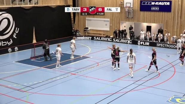 Falun skrällde mot Täby – slog till med åtta mål