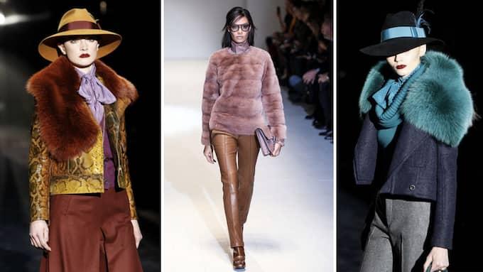 Från och med nästa år slutar Gucci sälja pälskläder. Foto: STELLA PICTURES