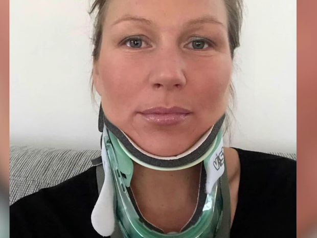 Lindas huvud har suttit löst i 15 år