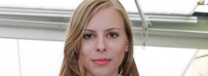 Hanna Wagenius, ordförande för Cuf, Centerprtiets ungdomsförbund. Foto: Lisa Von Garrelts