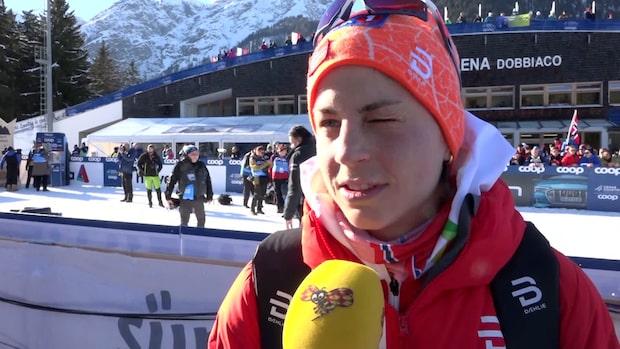 """Norskan erkänner: """"Ebba är nog irriterad på mig"""""""