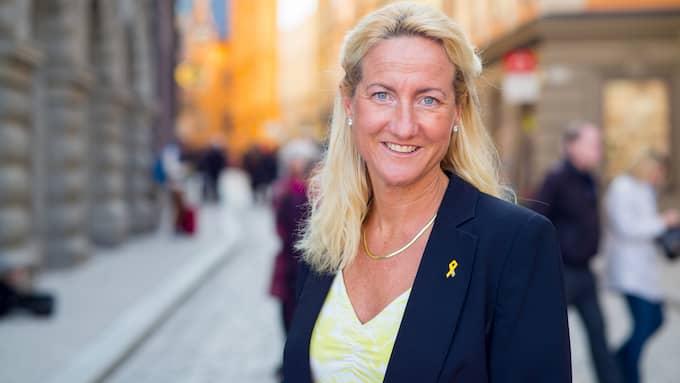 Cecilia Widegren (M), skattepolitisk talesperson. Foto: MODERATERNA
