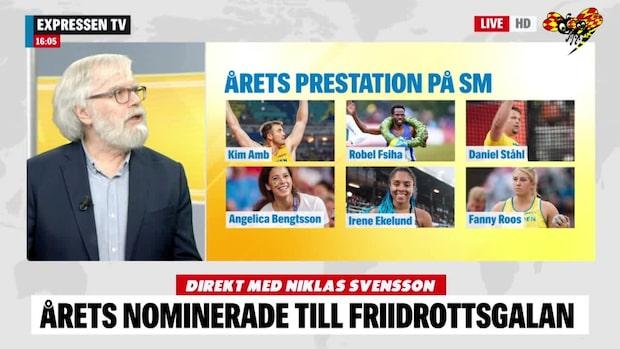 """Julin om nomineringarna: """"Fascinerande namn"""""""