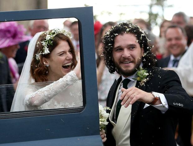 Kit Harington och Rose Leslie har gift sig