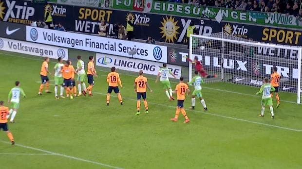 Höjdpunkter: Wolfsburg-Hoffenheim