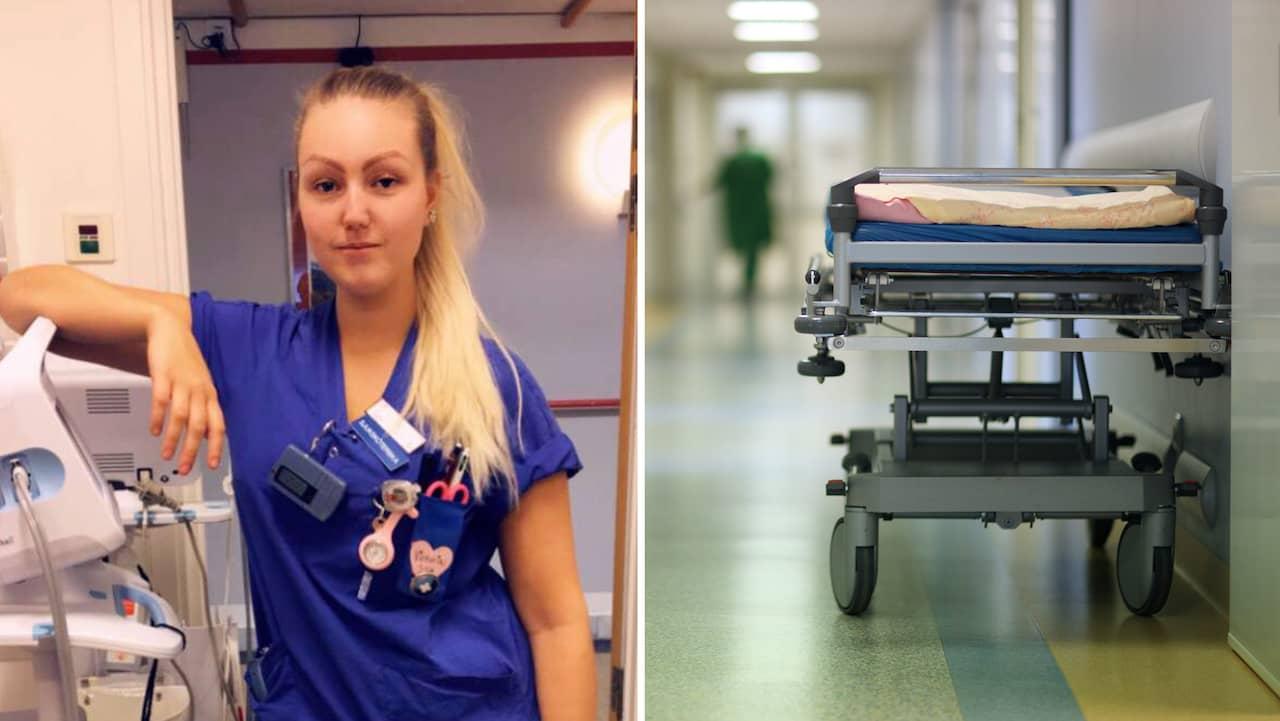 Patienterna på Kungälvs sjukhus tvingas sova i matsalen