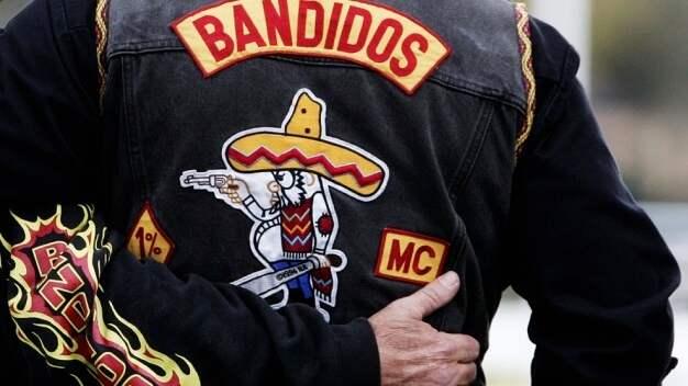 De misstänkta männen kopplas till mc-gänget Bandidos. Foto: / OKÄND