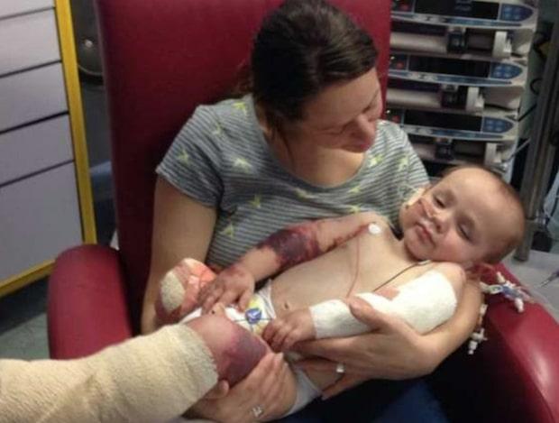 Loki, 1, fick feber - sedan kom läkarnas skräckbesked