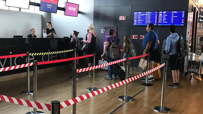 Ett Norwegian-plan från Los Angeles på väg till Stockholm har nödlandat i Reykjavik. Foto: Läsarbild