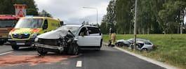 En död efter krock  med civil polisbil