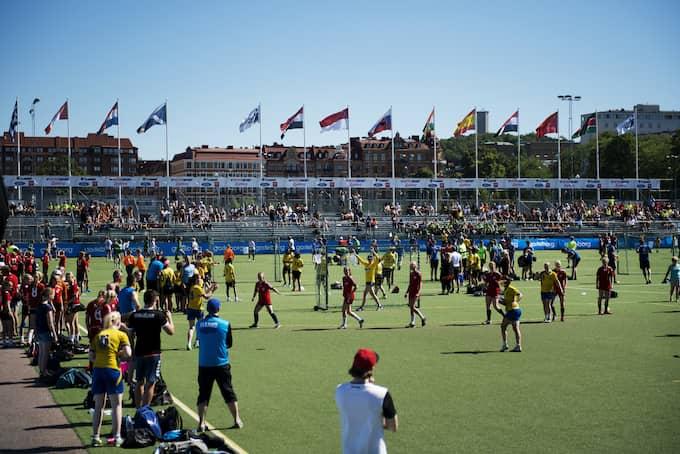 Heden under världens största handbollsturnering Partille cup i somras. Foto: Carl Sandin / BILDBYRÅN