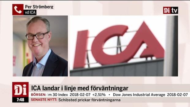 ICA:s vd, Per Strömberg, om goda rapporten