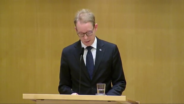Tobias Billström (M): Det är naturligt att vi röstar nej