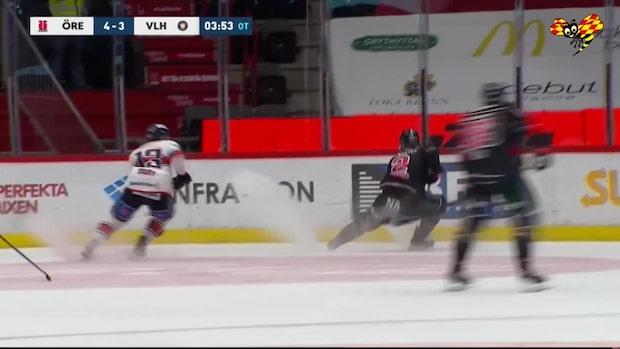 Highlights: Örebro besegrade Växjö efter förlängning