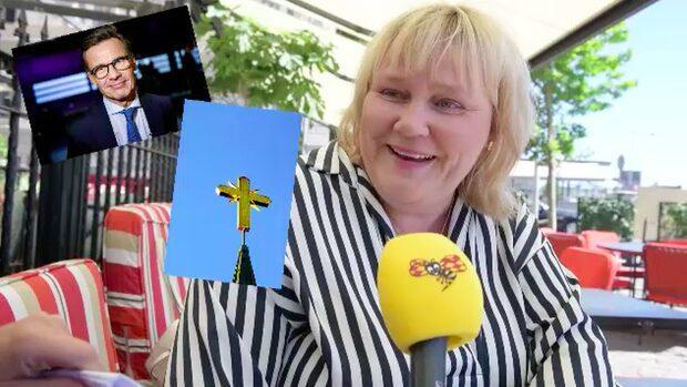 Ulf Kristersson eller gud? Snabba frågor med Birgitta Ed