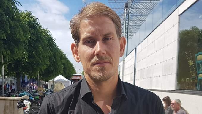 Niels Paarup-Petersen (C), gruppledare för Centerpartiet i Malmö. Foto: CSABA BENE PERLENBERG