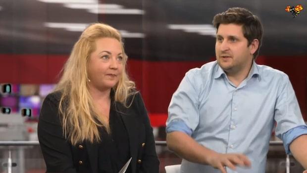 Rebecca Uvell och Björn Fridén om Agendas partiledardebatt