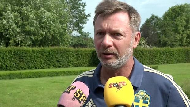 """Gerhardsson om Tyskland: """"Tror på att vi kan vinna"""""""