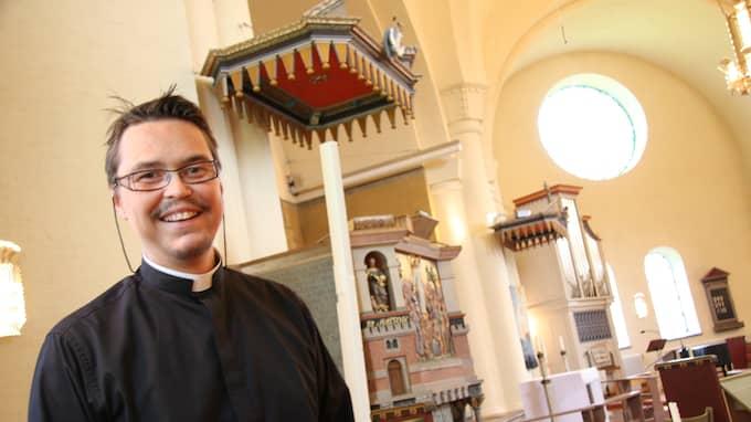 Prästen Tomas Österberg. Foto: PRIVAT