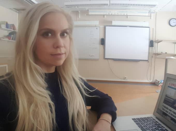 """Lovisa Sjölund, 27, från Boden: """"Hela huset skakade""""."""