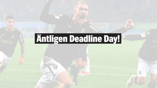 Deadline Day – då stänger transferfönstren