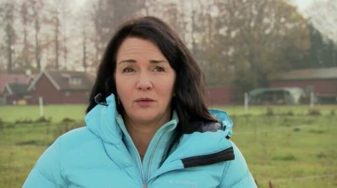 """""""Det gick rakt in i hjärtat"""", säger programledaren Sofia Wistam i tv-programmet. Foto: Kanal 5"""