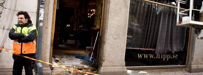 HIPP DRABBAT. Bombdådet mot restaurang Hipp 22 mars 2010 var ett av de mest uppmärksammade attentaten i Malmö under fjoråret. Foto: Sanna Dolck