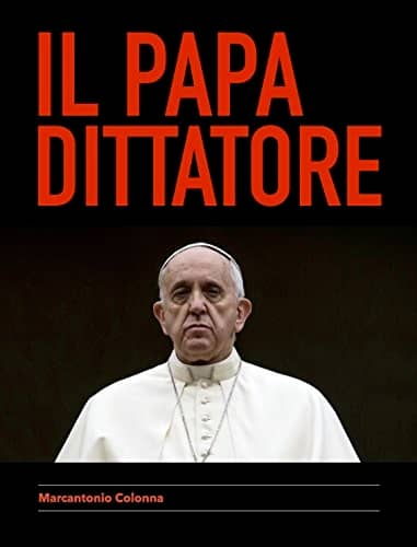 """""""Il papa dittatore"""" (Diktatorspåven) är skriven under pseudonym."""