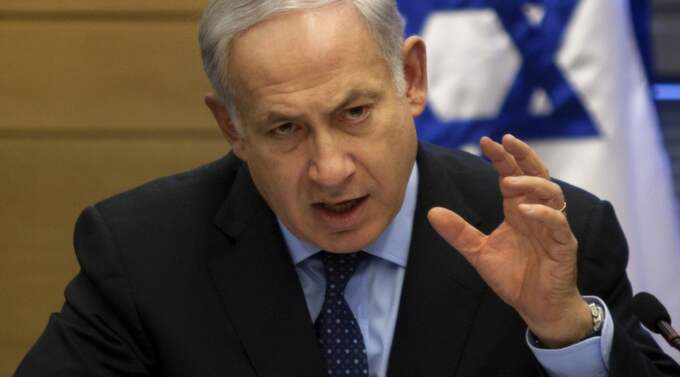 Israels premiärminister Benjamin Netanyahu. Foto: Sebastian Scheiner/AP