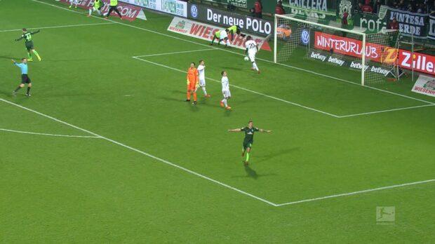 Höjdpunkter: Werder Bremen-Hannover
