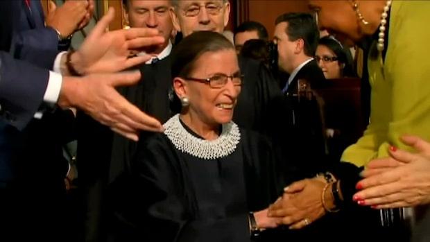 Maktkampen efter ikoniska Ruth Bader Ginsburgs död