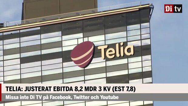Telia överträffar vinsten i jämförelse med analytikernas prognoser
