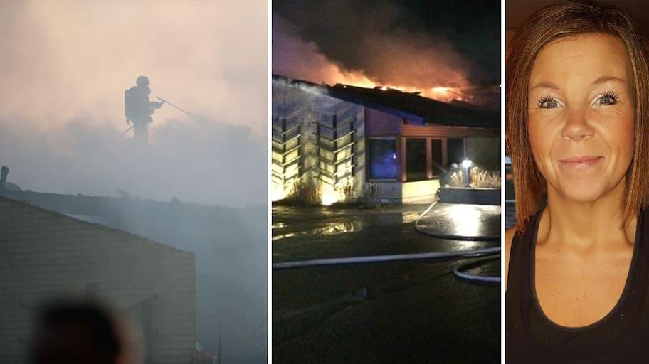 En natt i januari utbröt en brand på äldreboendet Allégården