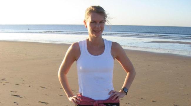 Sara Magnusson har bland annat varit på träningsresa i Portugal.