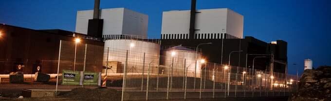Kärnkraftverket i Oskarshamn. Foto: Mikael Sjöberg