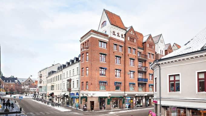 Alla känner igen huset i Lund enligt mäklaren. Foto: DIAKRIT/Burt Songsby