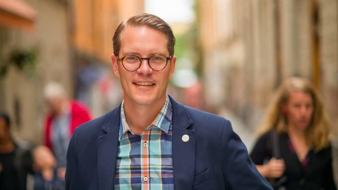 Lars Hjälmered (M), näringslivspolitisk talesperson. Foto: PRESSBILD